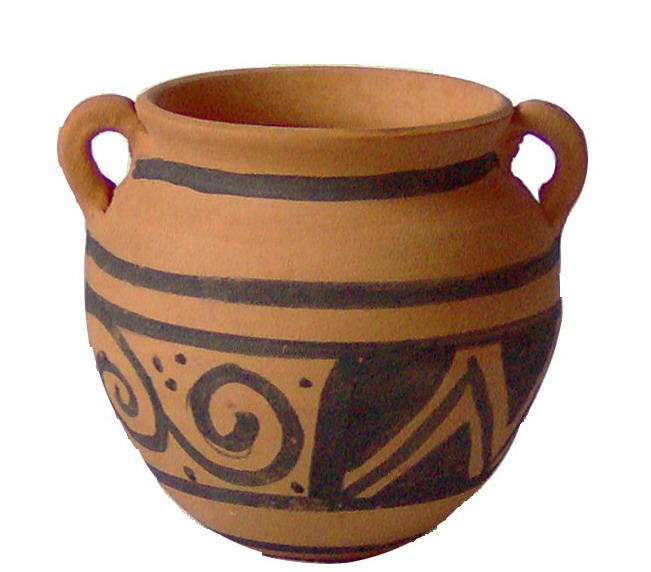 clay and ceramic pottery